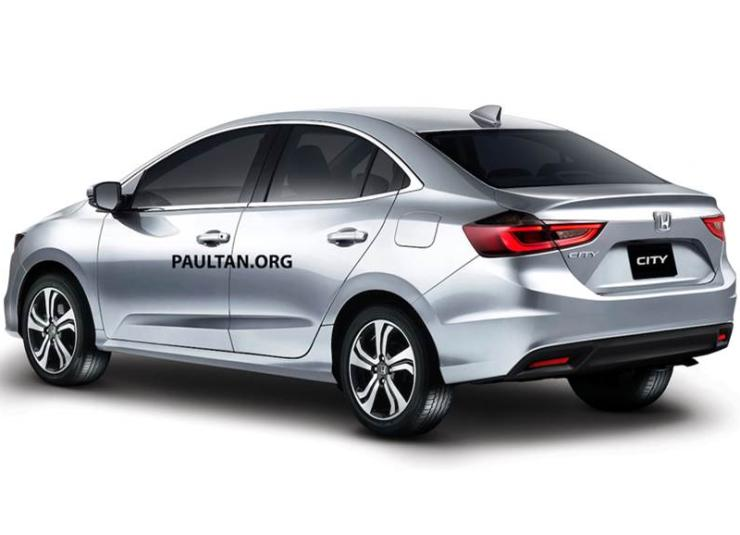 2020 Honda City Render 2