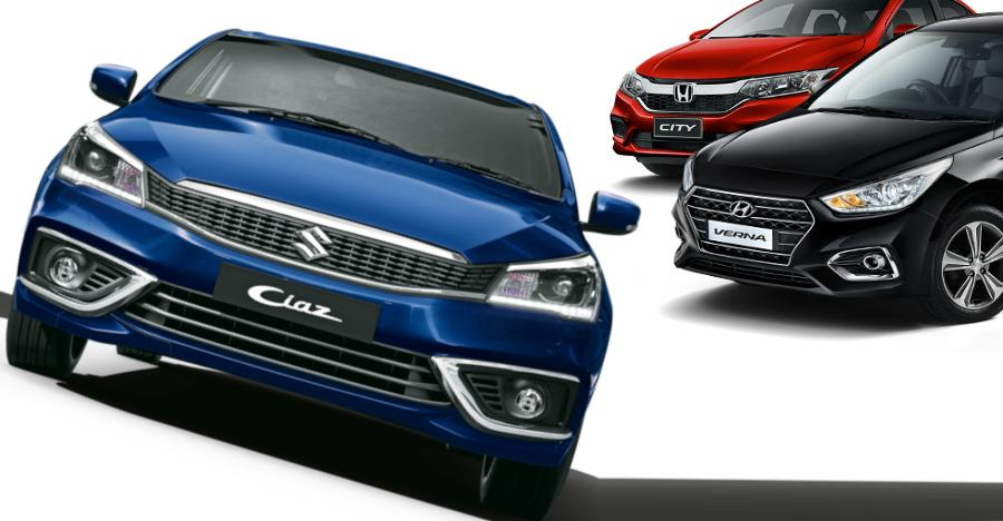 Ciaz City Verna Featured