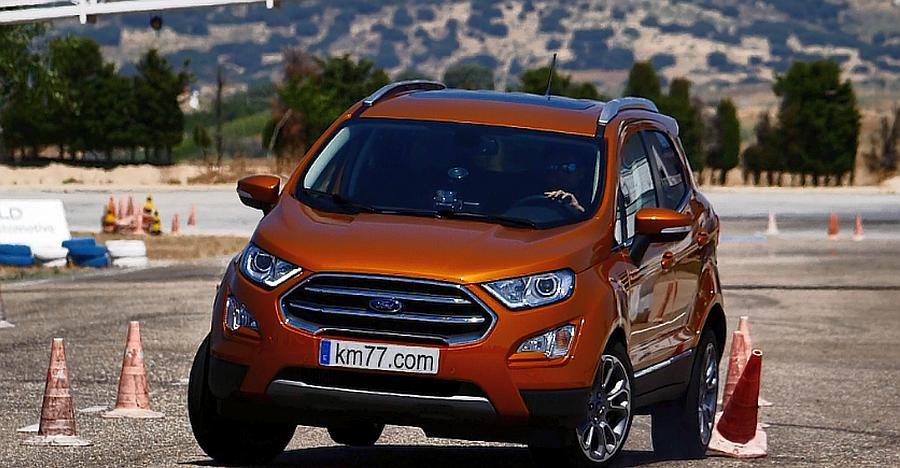 Ford Ecosport Moose Test Featured