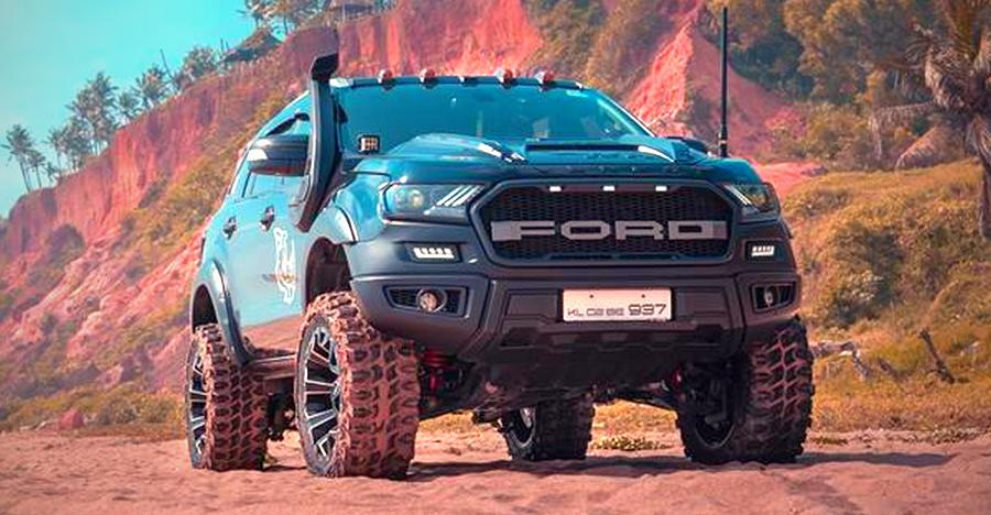 Ford Endeavour 5 Gorgeously Modified Examples From Around India