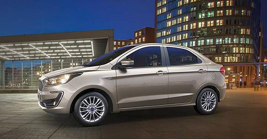 Ford Figo Aspire Facelift Studio Picture Featured