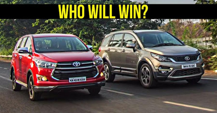 Hexa Vs Innova Drag Race Featured