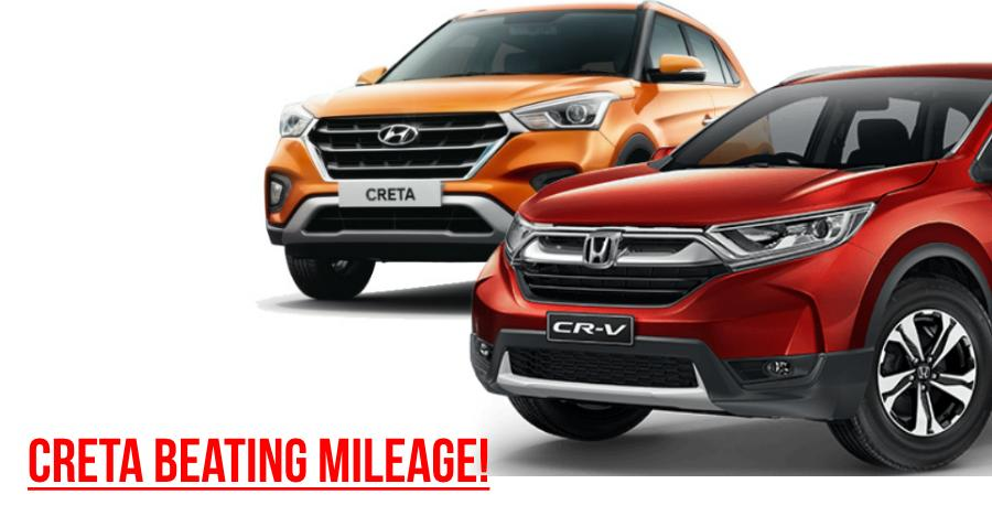 Honda Cr V Hyundai Creta Mileage Featured