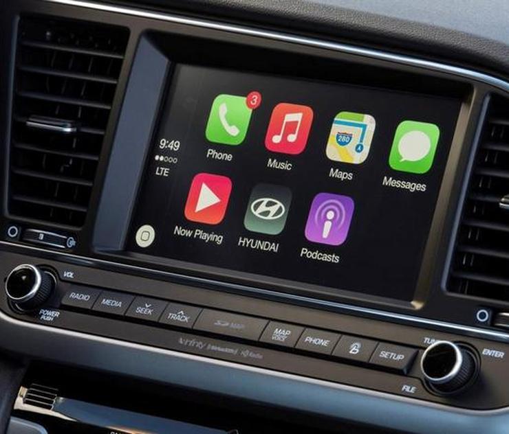 Hyundai Elantra Touchscreen