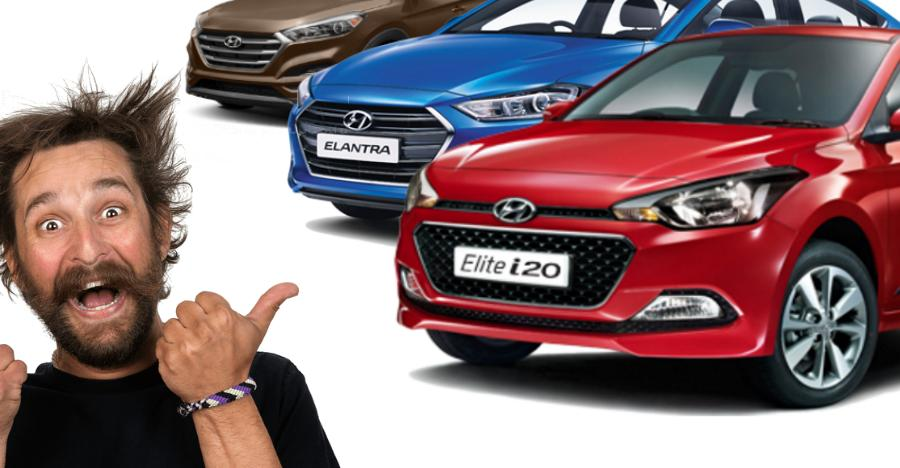 Hyundai cars selling with August discounts of up to Rs. 2 lakh: Santro to Elite i20