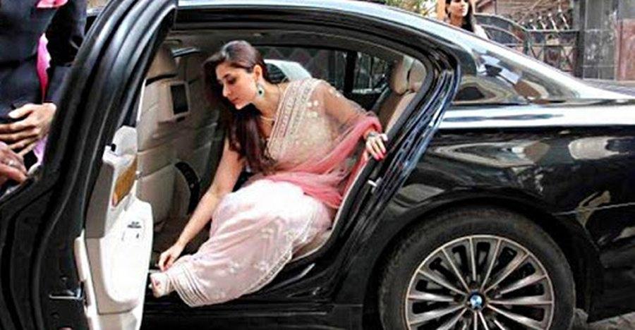 Kareena Kapoor Bmw 7 Series Featured