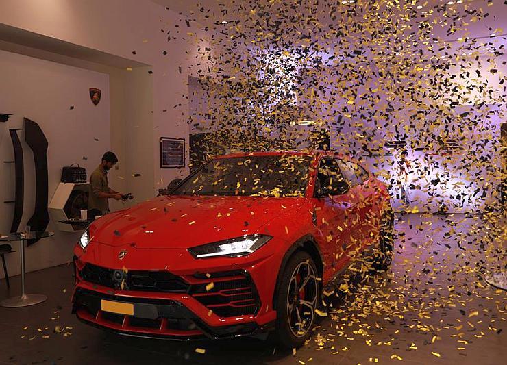 Lamborghini Urus India Delivery 3