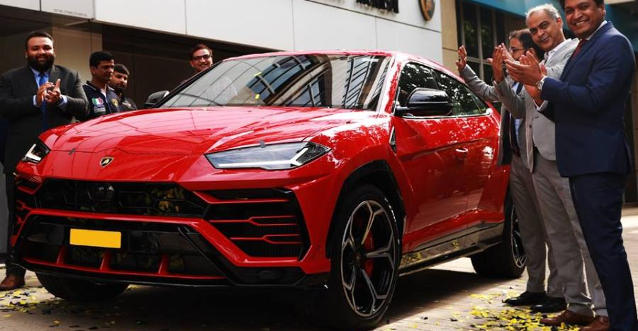 Lamborghini Urus India Delivery Featured