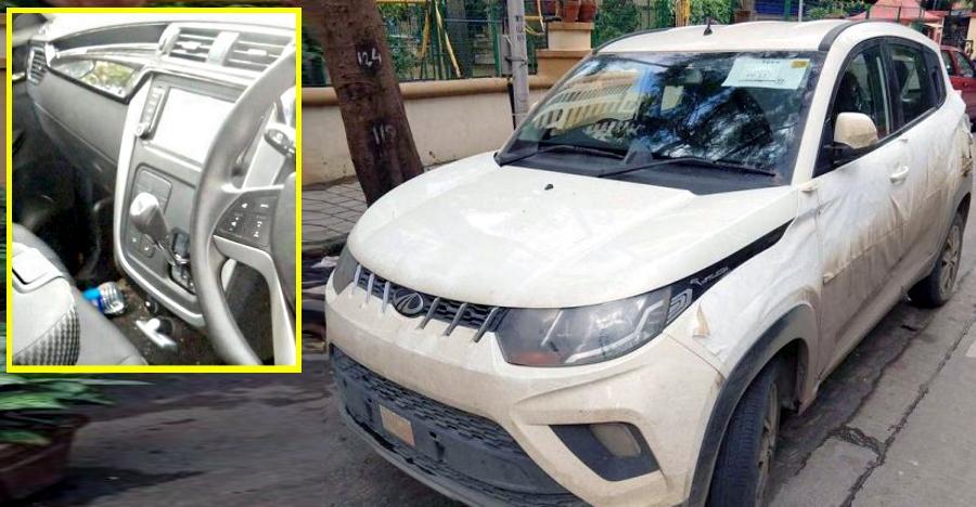 Mahindra Kuv100 Amt Spyshot Featured