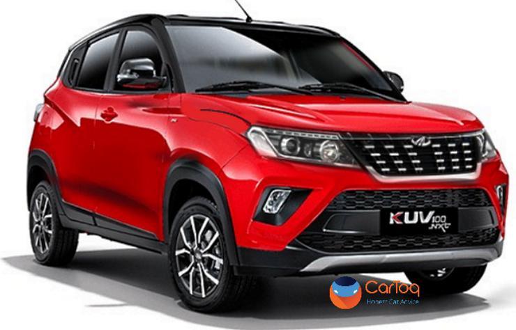 Mahindra Kuv100 With Xuv500 Look 2