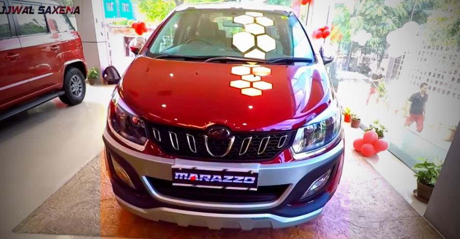 Mahindra Marazzo Accessorized