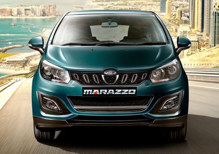 Mahindra Marazzo Mpv Front