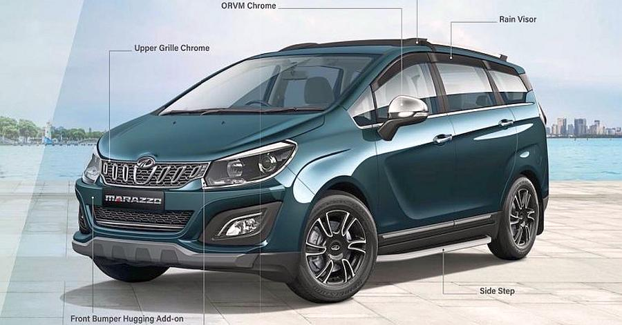 Mahindra Marazzo With Accessories Featued