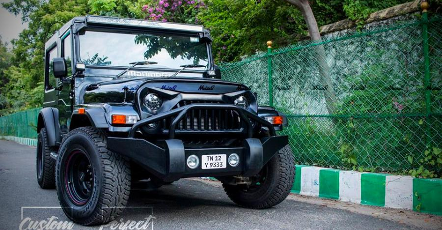Mahindra Thar Darth Vader Featured