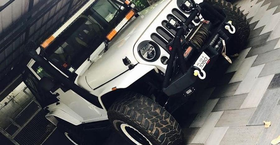 Mahindra Thar Jeep Wrangler Mod Featured