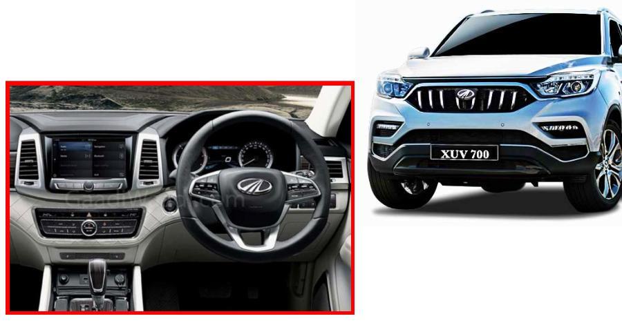 Mahindra XUV700 luxury SUV: Dashboard revealed