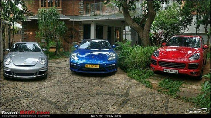 Mammooty Dulquer Salman Porsches