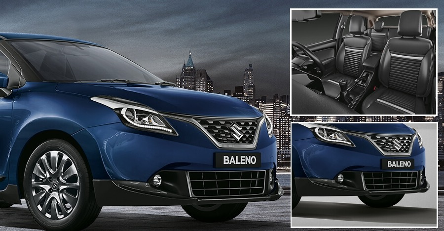 maruti baleno limited edition this is it. Black Bedroom Furniture Sets. Home Design Ideas