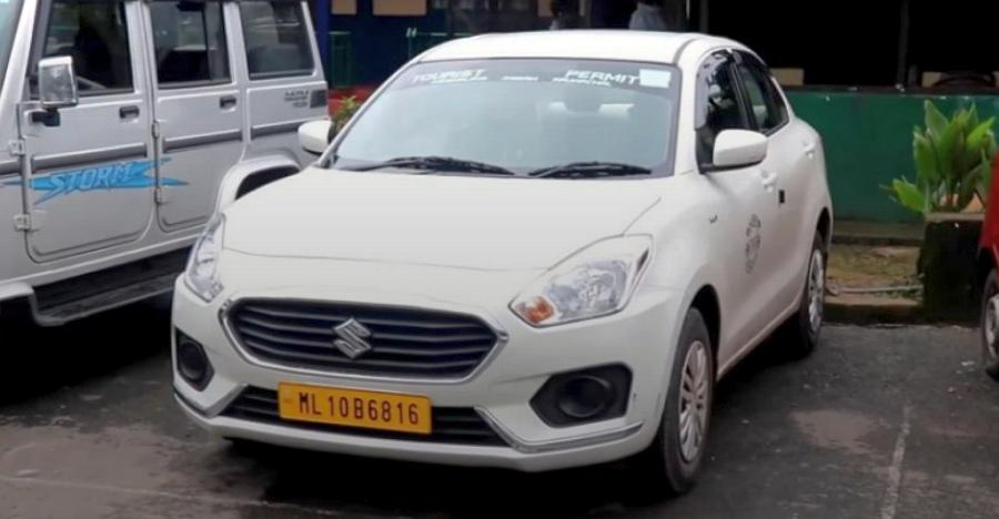 New Maruti Dzire Taxi Featured