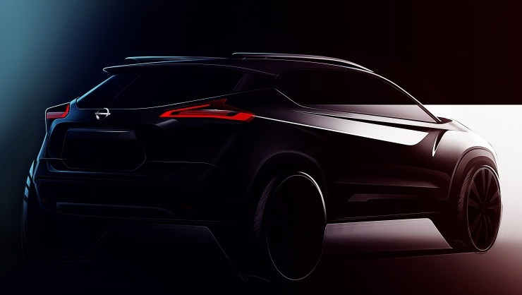 Nissan Kicks Teaser Rear