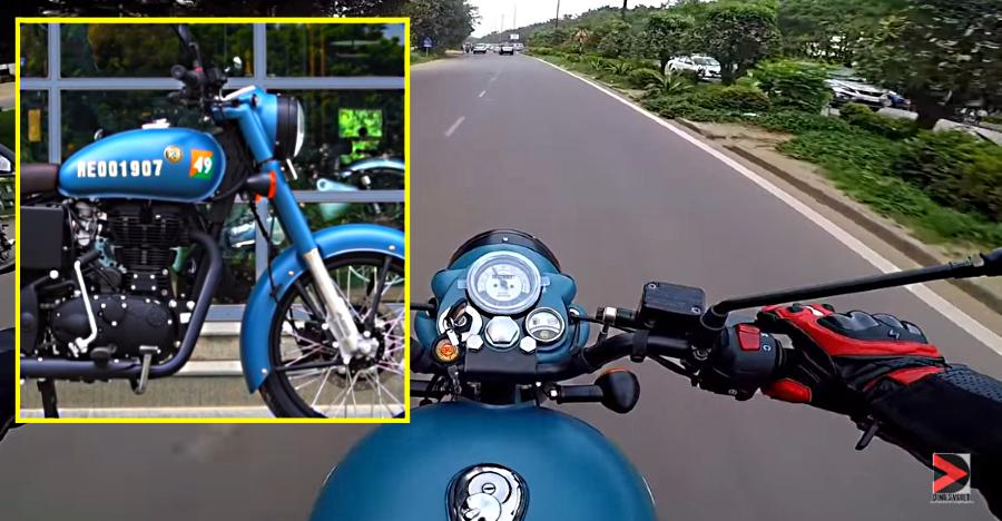 Royal Enfield Classic 350 Signals Video Review Featured