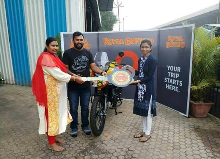 Royal Enfield Himalayan Abs Customer Delivery 1