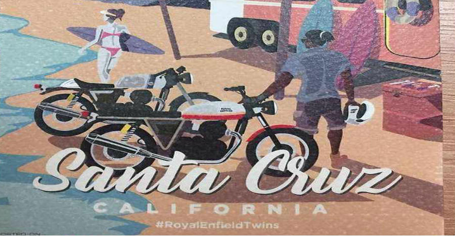 Royal Enfield Twins Ride Invite Feature