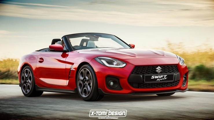 Is That A Suzuki Swift Sport Or Bmw Z4