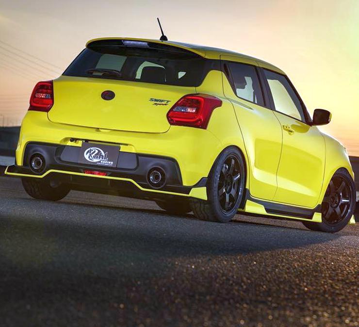 Suzuki Swift Sport: Suzuki Swift Sport With KUHL Racing Kit Looks Real FAST