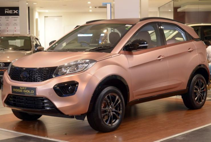 Tata Nexon Srt Rose Gold Edition 1