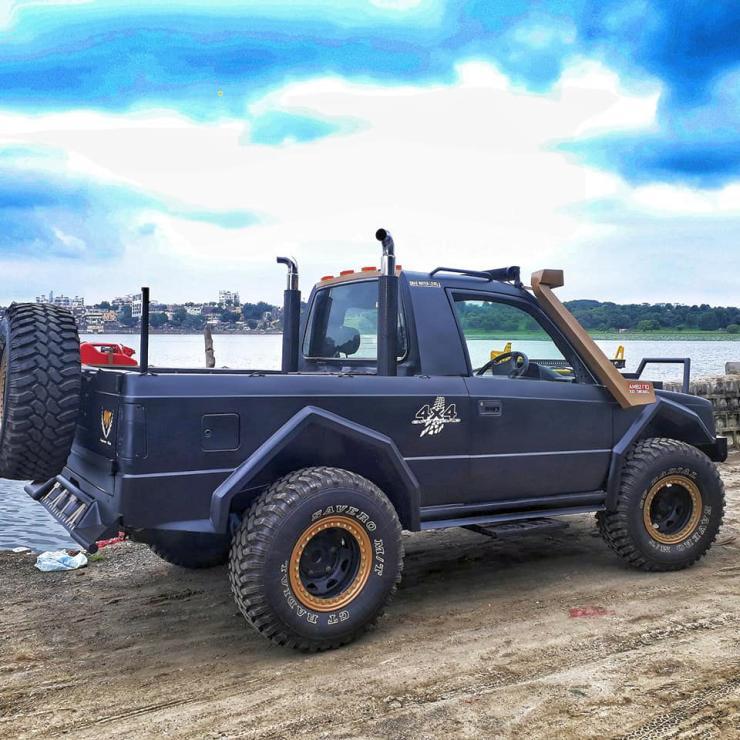 Tata Sierra Pick Up Truck 4