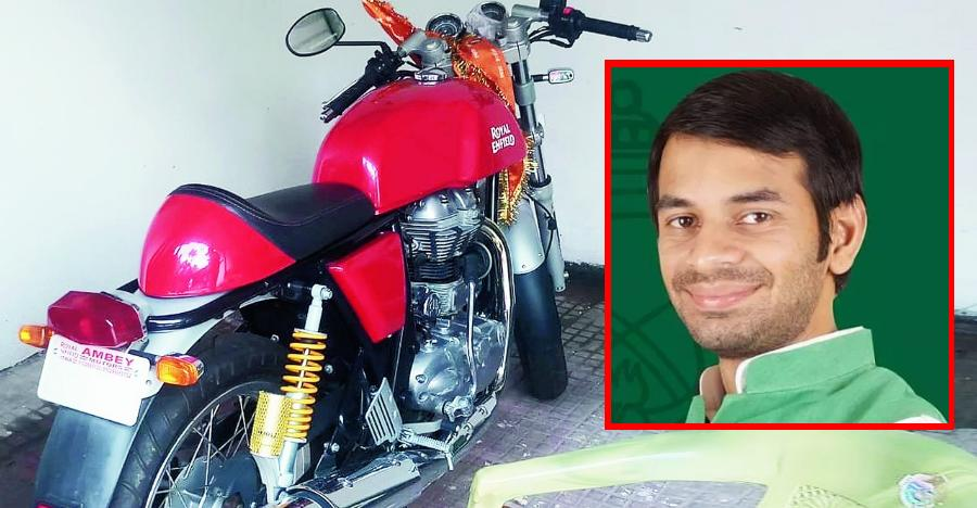 Tej Pratap Royal Enfield Continental Gt535 Featured