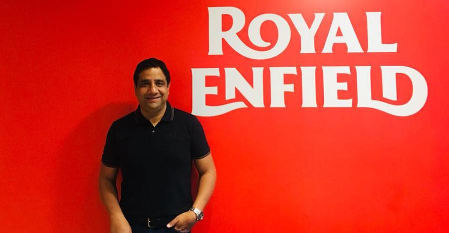 Vimal Sumbly joins Royal Enfield from Triumph Motorcycles India