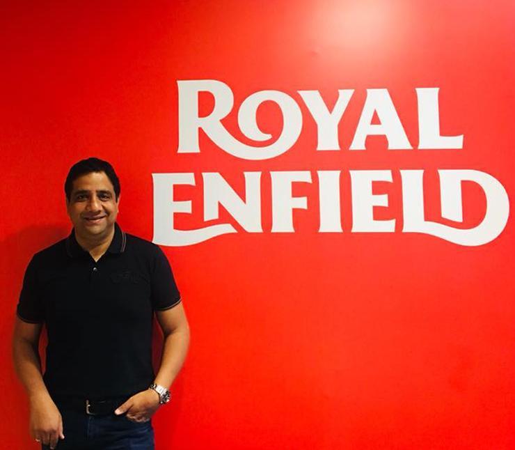 Vimal Sumbly At Royal Enfield