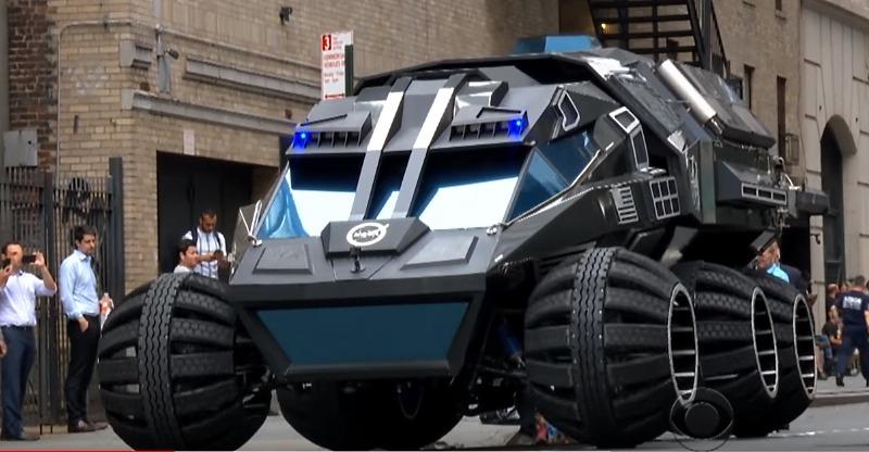 Mars Rover Stephen Colbert 2
