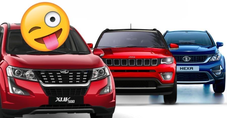 Mahindra XUV500 stronger than Jeep Compass plus Tata Hexa in sales