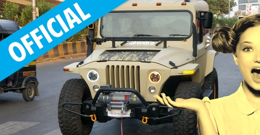 Mahindra Thar wanderlust production