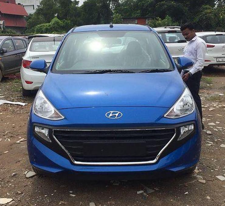 2018 Hyundai Santro In Blue 1