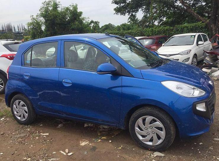 2018 Hyundai Santro In Blue 2