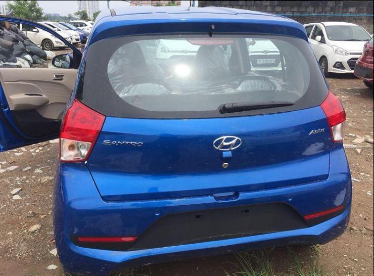 2018 Hyundai Santro In Blue 3