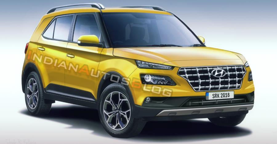 2019 Hyundai Styx Compact Suv Render Featured