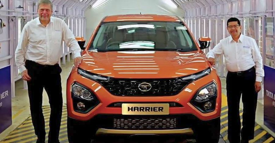2019 Tata Harrier Suv Featured