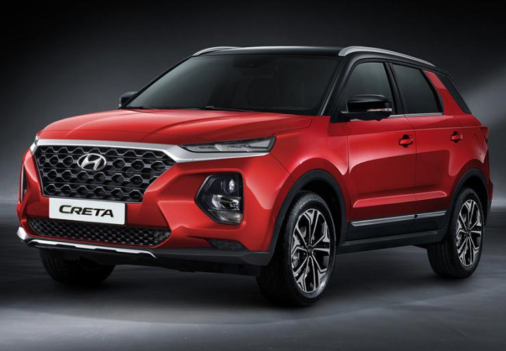 2020 Hyundai Creta New Render 1