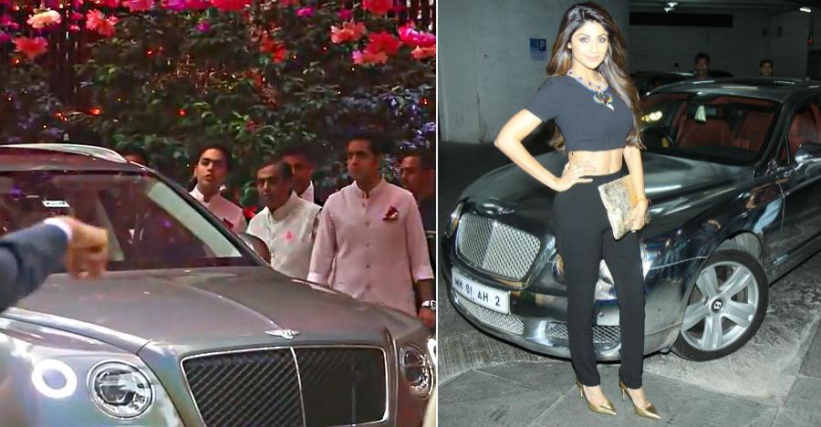 Ambani Shilpa Shetty Bentley Featured