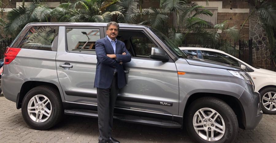 Anand Mahindra Tuv300 Plus