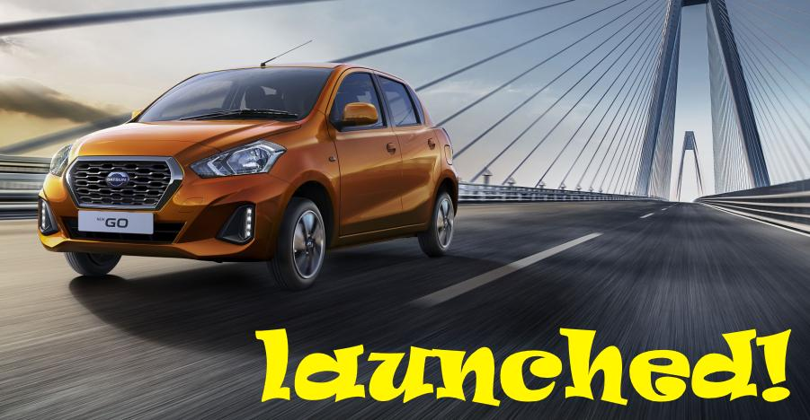 Facelifted Datsun Go & Go Plus launched in India