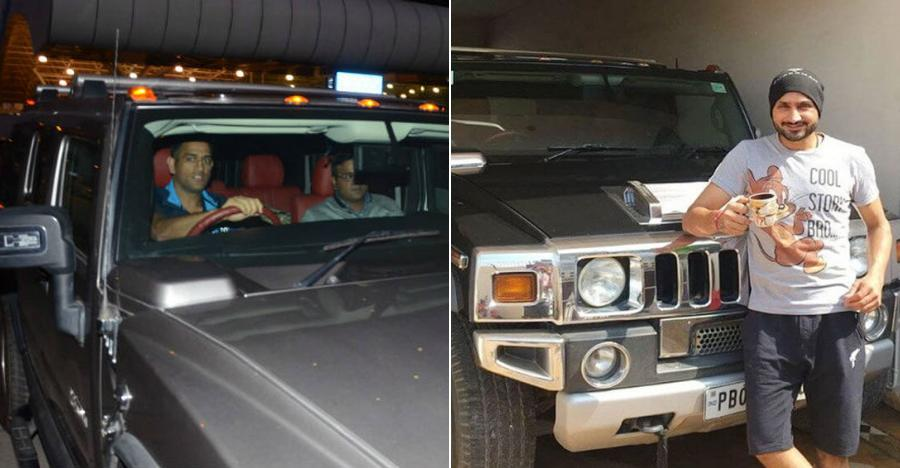 India S Hummers Amp Their Famous Owners Ms Dhoni To
