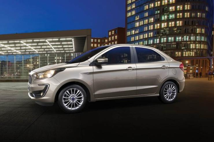 Ford Figo Aspire Facelift Studio Shot 3