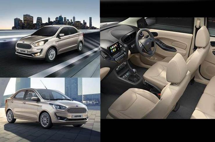Ford Figo Aspire Facelift Studio Shot 4