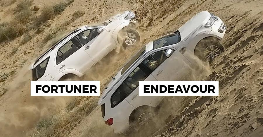 Fortuner Endeavour Off Road Featured